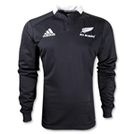 All Blacks 2012 Home LS Rugby Jersey