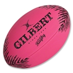 Gilbert Beach Rugby Ball (Pink)