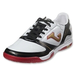 Joma Super Copa Indoor Junior (White/Black/Gold)