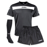 Joma Academy Short Sleeve Soccer Kit (Black)