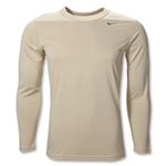 Nike Women's Performance Long Sleeve T-Shirt (Vegas Gold)
