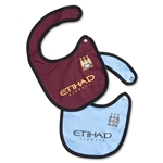 Manchester City 12/13 Baby Two-Piece Bib Set