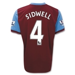 Aston Villa 09/10 SIDWELL Home Soccer Jersey