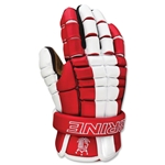 Brine Deft Lacrosse Gloves 13 (Red)
