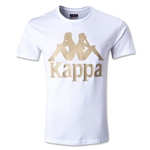 Kappa Authentic Sarab Kappa Logo T-Shirt (Wh/Gd)