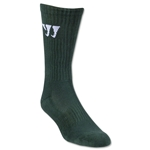Warrior Crew Socks (Dark Green)