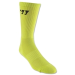Warrior Crew Socks (Neon Yellow)