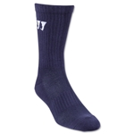 Warrior Crew Socks (Navy)