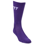 Warrior Crew Socks (Purple)