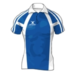 Gilbert Framed Premier Custom Jersey (Royal/White- Set of 22)