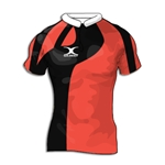 Gilbert Swoop Premier Custom Jersey (Red/Black- Set of 22)