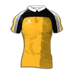 Gilbert Yoked Premier Custom Jersey (Yellow/Black- Set of 22)