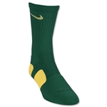 Nike Elite Crew Sock (Dark Green/Yellow)