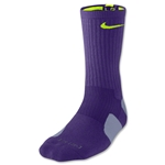 Nike Elite Crew Sock (Purple)