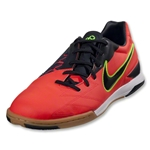 Nike T90 Shoot IV IC (Bright Crimson/Dark Obsidian)
