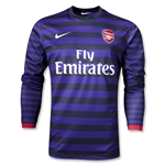Arsenal 12/13 LS Away Soccer Jersey
