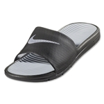Nike Benassi Solarsoft Slide (Black/Wolf Grey)