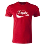 dumpTackle Enjoy Rugby T-Shirt (Red)