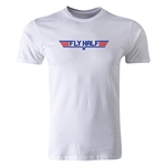 dumpTackle Fly Half T-Shirt (White)