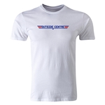 dumpTackle Outside Center T-Shirt (White)