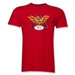 Old White Rugby Club Men's Fashion T-Shirt (Red)