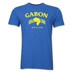 Gabon Soccer Men's Fashion T-Shirt (Heather Royal)