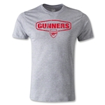 Arsenal Gunners Men's Fashion T-Shirt (Gray)