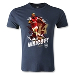 Arsenal Walcott Player Men's Fashion T-Shirt (Navy)