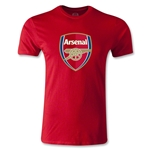 Arsenal Crest Men's Fashion T-Shirt (Red)