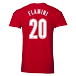Arsenal Flamini 20 Men's Fashion T-Shirt (Red)