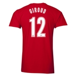 Arsenal Giroud 12 Men's Fashion T-Shirt (Red)
