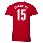 Arsenal Oxlade-Chamberlain 15 Men's Fashion T-Shirt (Red)
