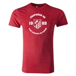 Atletico Madrid Property Men's Fashion T-Shirt (Heather Red)