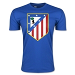 Atletico Madrid Crest Men's Fashion T-Shirt (Royal)