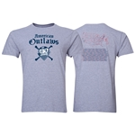 American Outlaws 150 Chapters T-Shirt (Gray)