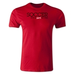 America Scores Part of Me Poetry T-Shirt (Red)