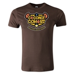 Coconut Cohort Alternative Rugby Commentary T-Shirt (Brown)