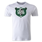 Craic Dealer Alternative Rugby Commentary T-Shirt (White)