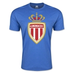 AS Monaco Men's Fashion Soccer T-Shirt (Heather Royal)