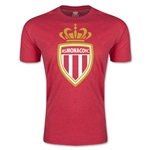 AS Monaco Men's Fashion Soccer T-Shirt (Heather Red)