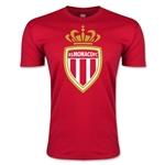 AS Monaco Men's Fashion Soccer T-Shirt (Red)