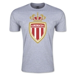AS Monaco Men's Fashion Soccer T-Shirt (Grey)