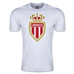 AS Monaco Men's Fashion Soccer T-Shirt (White)