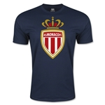 AS Monaco Men's Fashion Soccer T-Shirt (Navy)