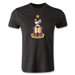 Bradford City Crest Men's Fashion T-Shirt (Black)