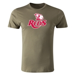 Queensland Reds Premier Supporter T-Shirt (Olive)