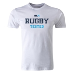 BLK Rugby Tested Premier Supporter T-Shirt (White)