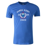 Samoa Rugby Union Premier Supporter T-Shirt (Royal)