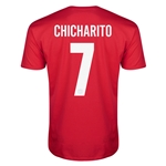 Bayer Leverkusen CHICHARITO Men's Fashion T-Shirt (Red)