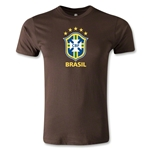 Brazil Men's Fashion T-Shirt (Brown)